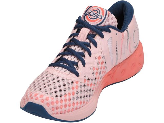 fdbba84d3bf6 asics Noosa FF 2 Chaussures Femme, seashell pink/dark blue/begonia ...